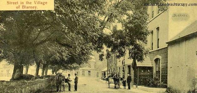A street in Blarney in 1898