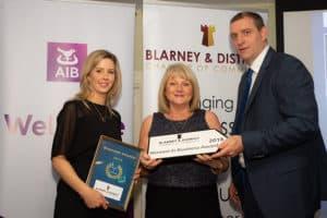 Women in business award winner 2018
